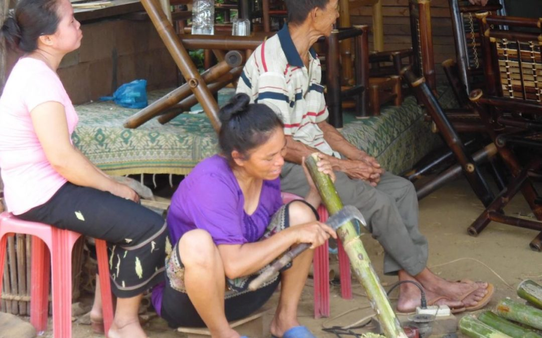 ASEAN Heritage Parks in 35 years: Communities in Lao PDR's Nam Ha National Protected Area earn from bamboo, ecotourism